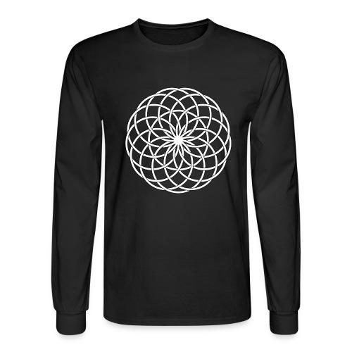 Moon Flower - Men's Long Sleeve T-Shirt