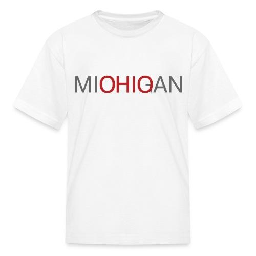 Michigan - Ohio Kids T-Shirt - Kids' T-Shirt