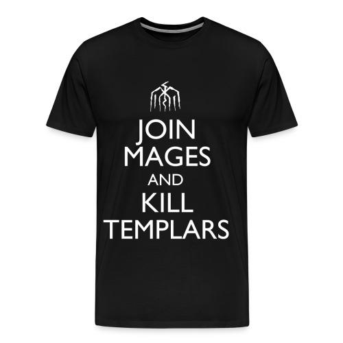 Dragon Age Mages - Male  - Men's Premium T-Shirt