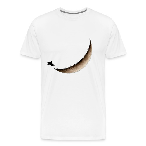 Infinite Winter Moon Jump T-Shirt - Men's Premium T-Shirt