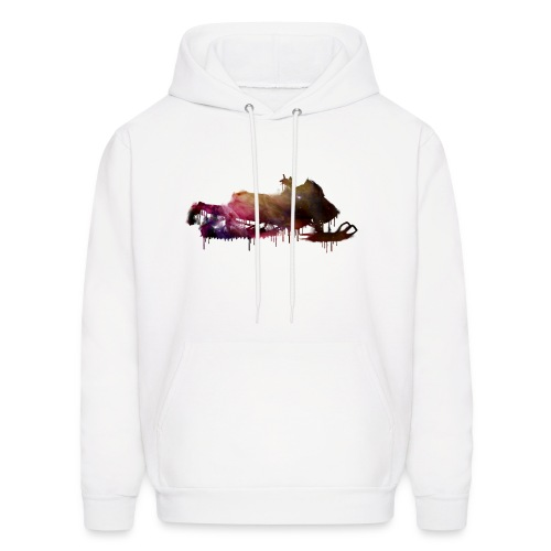 Infinite Winter Space Snowmobile Hoodie - Men's Hoodie