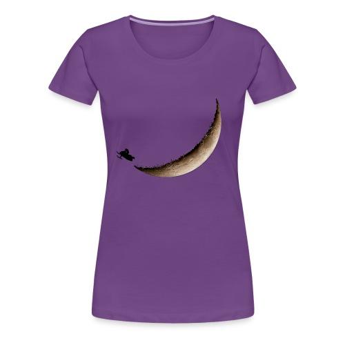 Infinite Winter Moon Jump Women's T-Shirt - Women's Premium T-Shirt