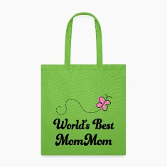 Mom Mom (World's Best) Bags & backpacks