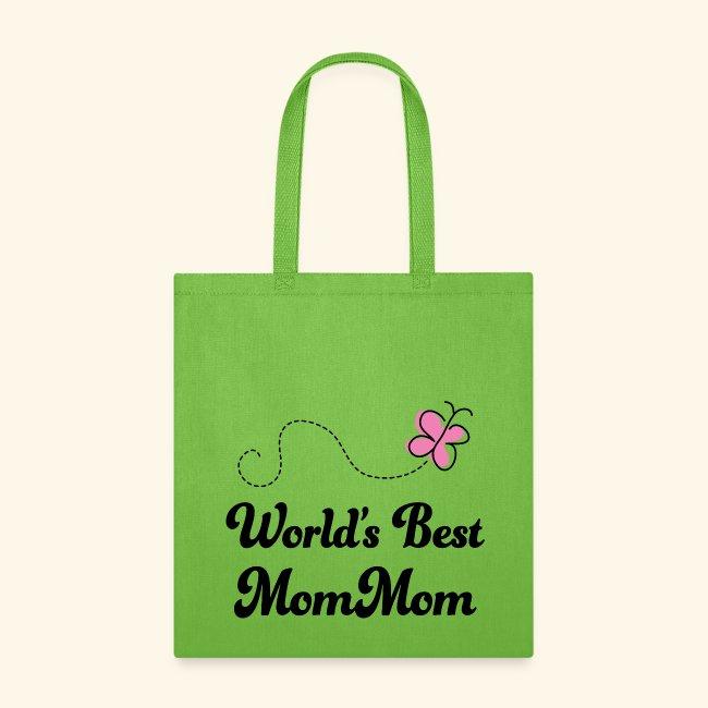 Mom Mom Grandma Tote Bag (World s Best) 007f972ca11