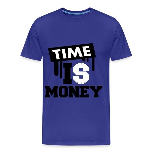 Time is Money tee - Men's Premium T-Shirt
