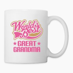 Great Grandma (Worlds Best) Bottles & Mugs