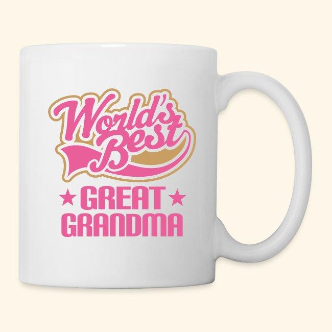 homewise shopper great grandma mug worlds best coffeetea mug