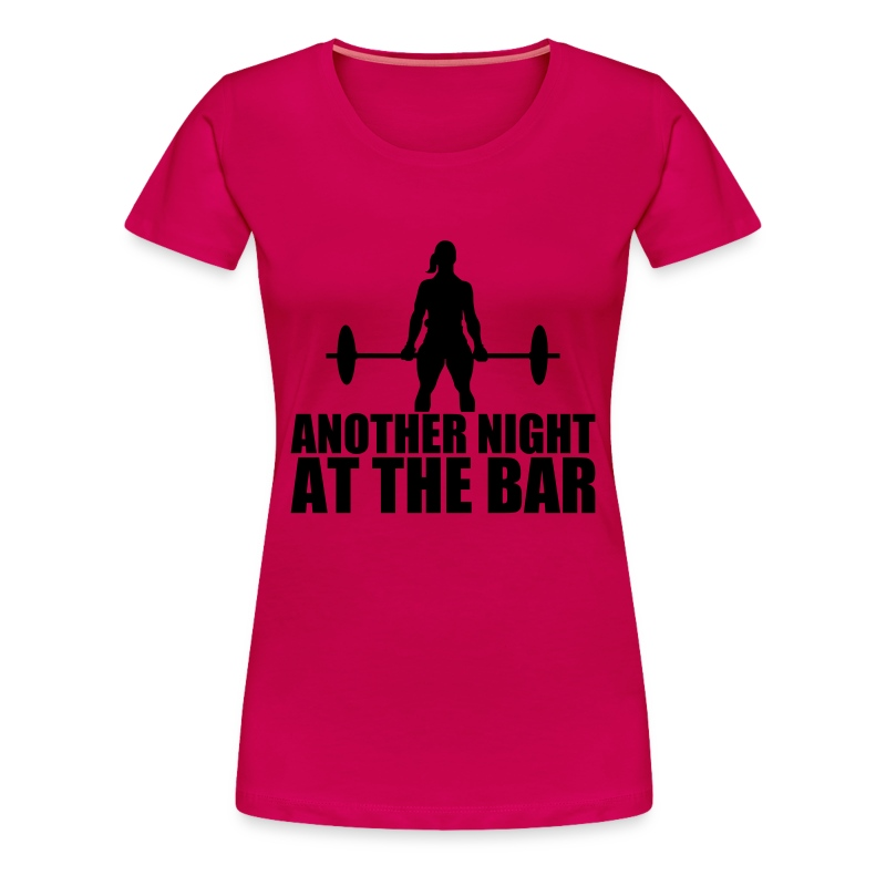 Another Night at the Bar - Women's Premium T-Shirt