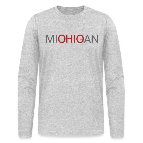 Michigan - Ohio Men's Long Sleeve T-Shirt by AA - Men's Long Sleeve T-Shirt by Next Level