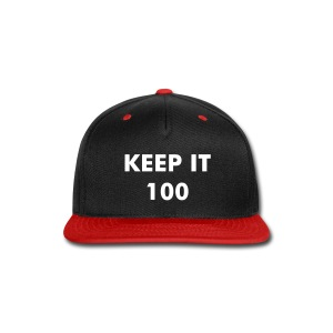 100 PREMIUM HAT - Snap-back Baseball Cap