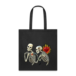 tattooed bones tote - Tote Bag