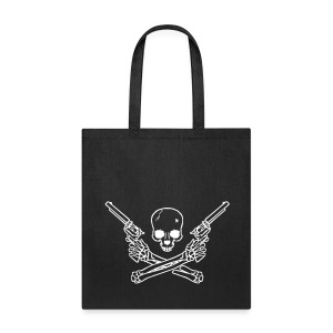 guns n bones tote - Tote Bag