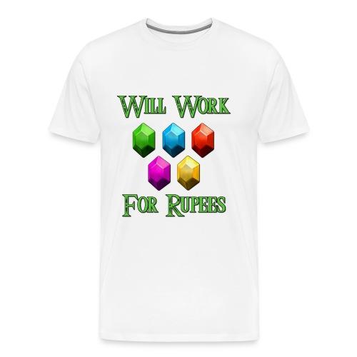Rupee Zelda - M  - Men's Premium T-Shirt