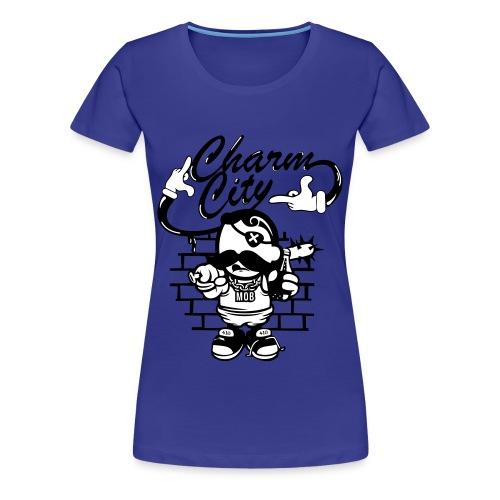 Womens Charm City Dead Eye Boh Baltimore  - Women's Premium T-Shirt