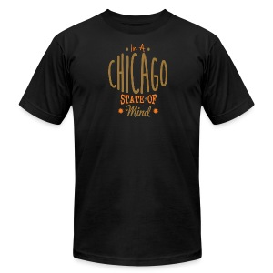 Chicago State Of Mind - Men's T-Shirt by American Apparel
