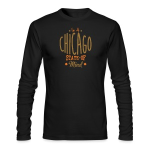 Chicago State Of Mind - Men's Long Sleeve T-Shirt by Next Level