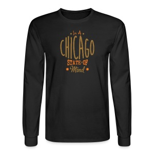 Chicago State Of Mind - Men's Long Sleeve T-Shirt