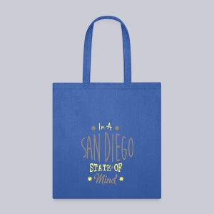San Diego State Of Mind - Tote Bag
