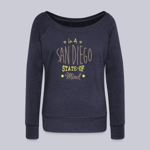 San Diego State Of Mind - Women's Wideneck Sweatshirt