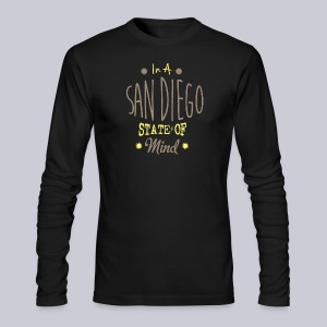San Diego State Of Mind - Men's Long Sleeve T-Shirt by Next Level