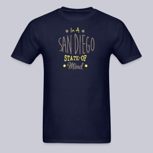 San Diego State Of Mind - Men's T-Shirt