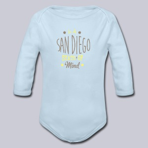 San Diego State Of Mind - Long Sleeve Baby Bodysuit