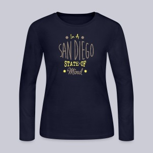 San Diego State Of Mind - Women's Long Sleeve Jersey T-Shirt