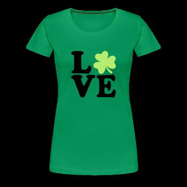 Shamrock love Women's T-Shirts
