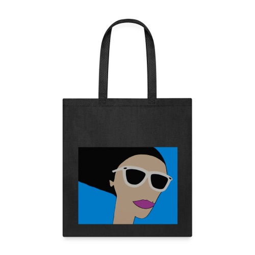 Girl in the Wind - Bag - Tote Bag