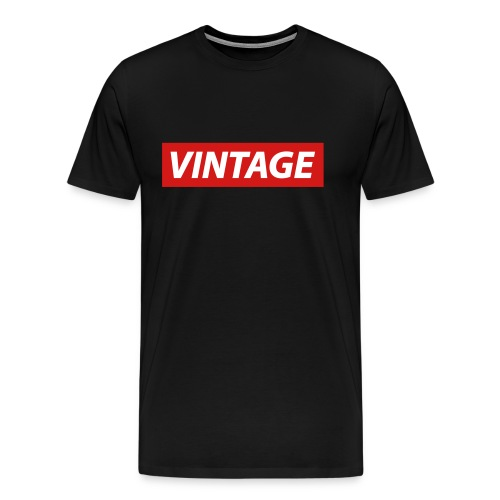 Vintage by 8K - Men's Premium T-Shirt