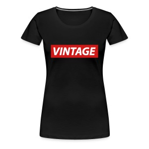 Vintage by 8K - Women's Premium T-Shirt