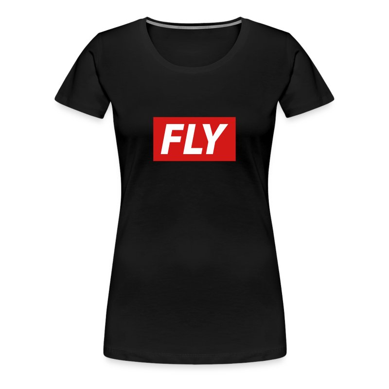 Fly by 80Kingz - Women's Premium T-Shirt