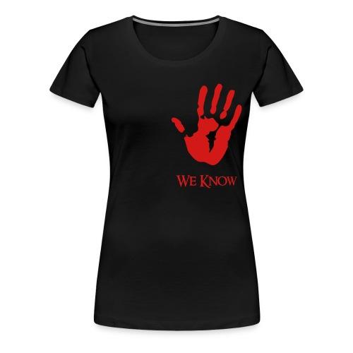 Dark Brotherhood - F  - Women's Premium T-Shirt