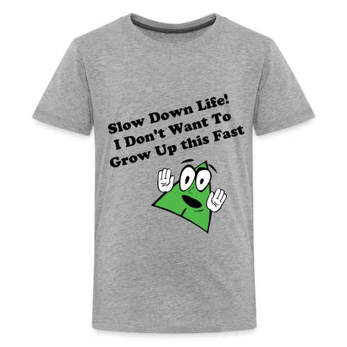 (New) Slow Down Life. TM  Youth Tee  - Kids' Premium T-Shirt
