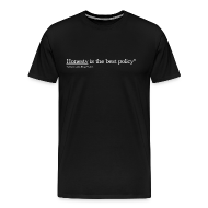 T-Shirts ~ Men's Premium T-Shirt ~ Honesty