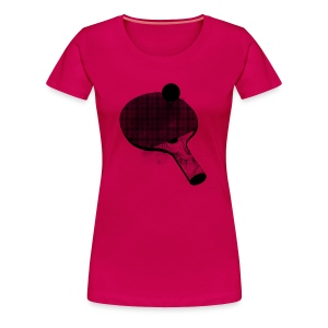 I'd rather be playing ping pong (women's premium tee) - Women's Premium T-Shirt