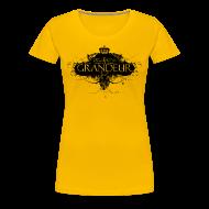T-Shirts ~ Women's Premium T-Shirt ~ Delusions of grandeur (women's slim fit organic t-shirt)