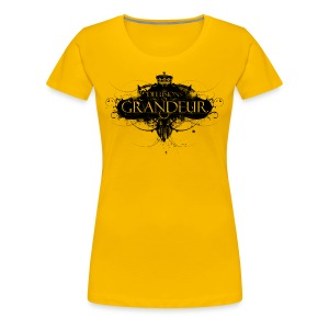 Delusions of grandeur (women's slim fit organic t-shirt) - Women's Premium T-Shirt