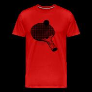 T-Shirts ~ Men's Premium T-Shirt ~ I'd rather be playing ping pong.