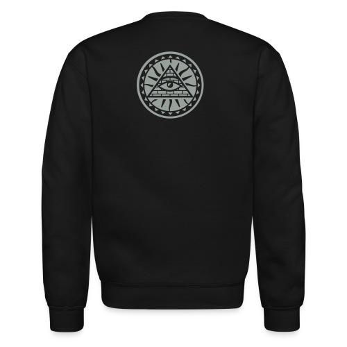 Ill blk lng t - Crewneck Sweatshirt