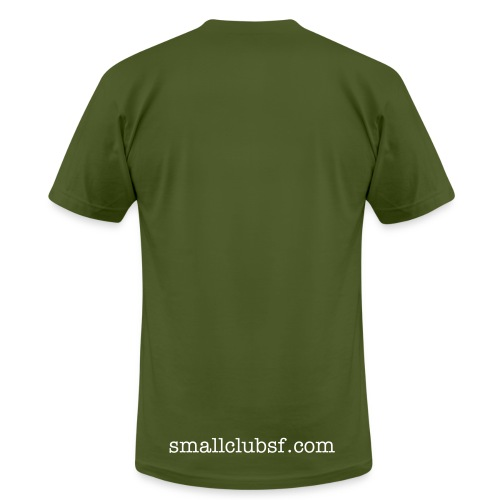 small club signature tee (white ink) - Men's  Jersey T-Shirt