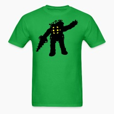 Big Daddy Waving Silhouette T-Shirts