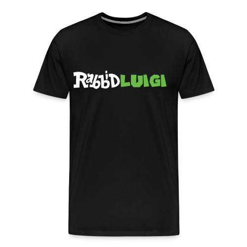 Men's: Rabbidluigi - Men's Premium T-Shirt