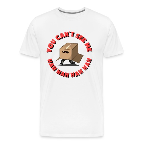Men's: You Can't See Me - Men's Premium T-Shirt