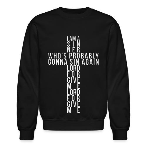 I Am A Sinner Crewneck - Crewneck Sweatshirt