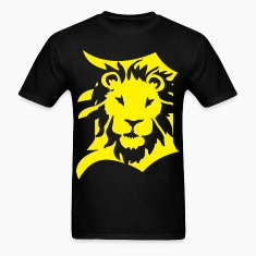 DETROIT LIONS yellow T-Shirts