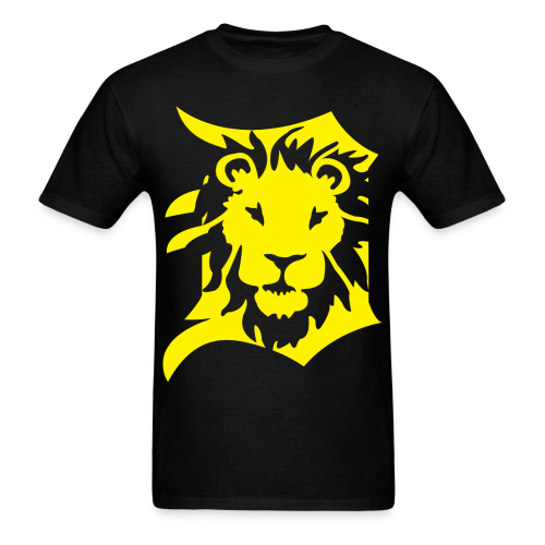 DETROIT LIONS yellow - Men's T-Shirt