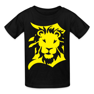 DETROIT LIONS yellow - Kids' T-Shirt