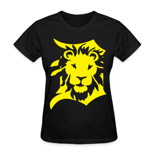 DETROIT LIONS yellow - Women's T-Shirt