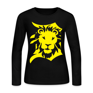 DETROIT LIONS yellow - Women's Long Sleeve Jersey T-Shirt